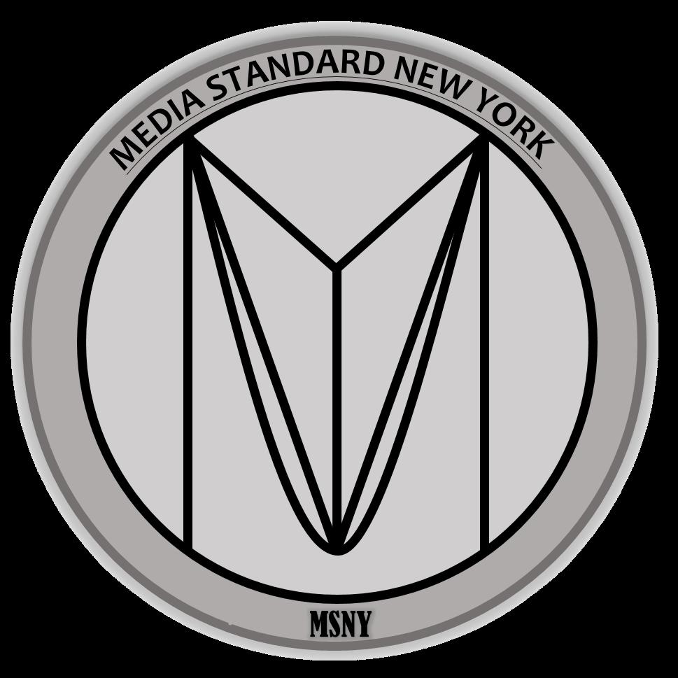 Media Standard New York Logo Official transparent
